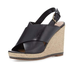 Andre Assous - Cora Leather Espadrille Wedge Sandal