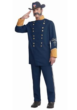 HalloweenCostumes - Adult Union Officer Costume
