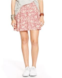 Ralph Lauren - Floral-Print A-Line Miniskirt