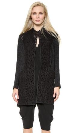 Zero + Maria Cornejo - Block Lace Frock Coat