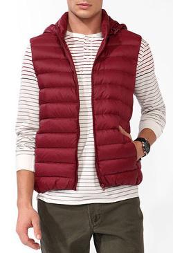 Forever 21 - Hooded Puffer Vest