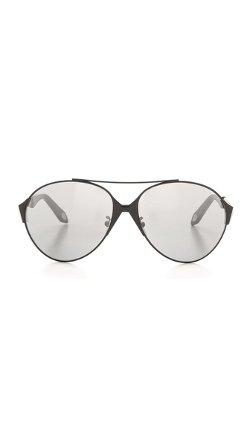 Givenchy - Round Aviator Sunglasses