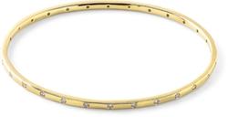 Ippolita - Gold Senso Thin 28-Stone Bangle with Diamonds