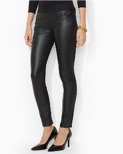 Ralph Lauren - Faux Leather Legging