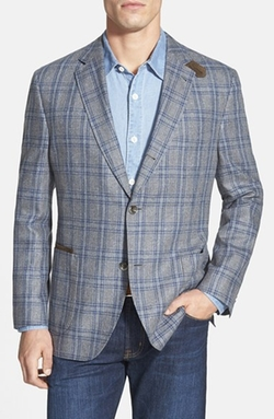 Kroon  - The Edge Plaid Silk Sport Coat