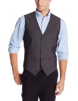 Perry Ellis - Tonal Textured Suit Vest