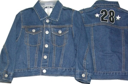 Astro - Denim Embroidered Western Jackets