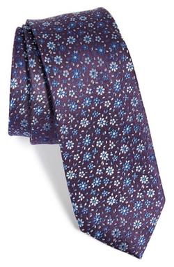 The Tie Bar  - Floral Silk Tie