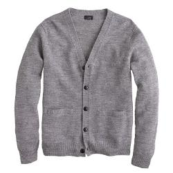 J.Crew - Rustic Merino Elbow-Patch Cardigan