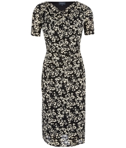 Austin Reed - Viyella - Burnout Floral Jersey Dress