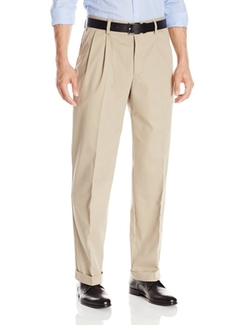 Dockers  - Easy Khaki Relaxed-Fit Pleated Pant