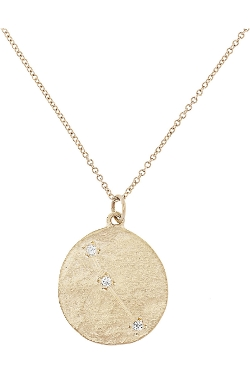 Brooke Gregson - Aries 14-Karat Gold Diamond Necklace