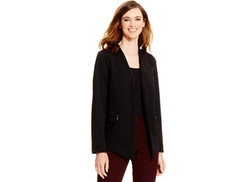 Alfani  - Textured High-Low Blazer