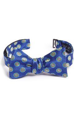 Ted Baker London  - Geometric Silk Bow Tie
