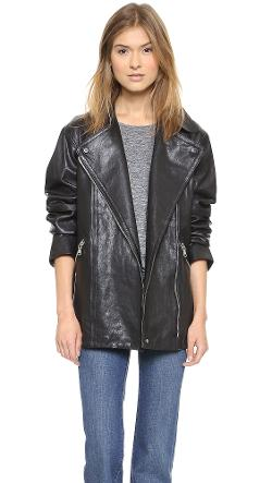 Marc Jacobs  - Karlie Leather Coat
