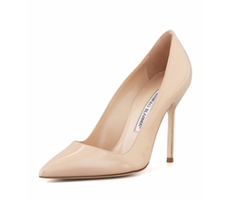 Manolo Blahnik  - BB Patent Pumps