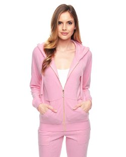 Juicy Couture - J Bling Relaxed Terry Jacket