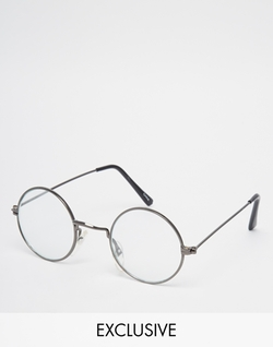 Reclaimed Vintage - Round Glasses