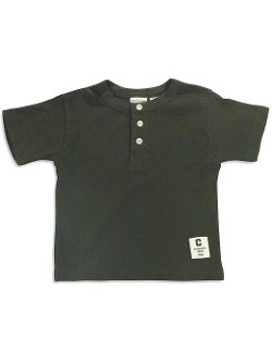 Private Label - Short Sleeve Henley T-Shirt