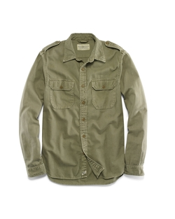 Denim & Supply Ralph Lauren - Woven Cotton Military Shirt