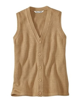 WinterSilks  - Silk Cotton Sweater Vest