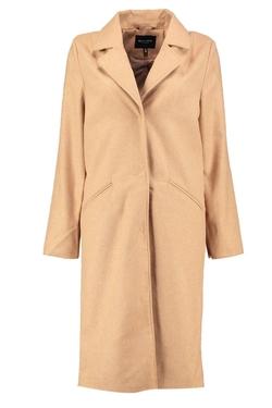 Boohoo -  Aubree Longline Wool Look Coat