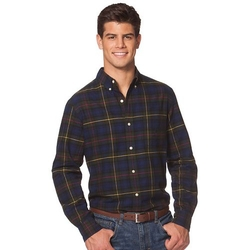 Chaps  - Classic-Fit Tartan Plaid Oxford Button-Down Shirt