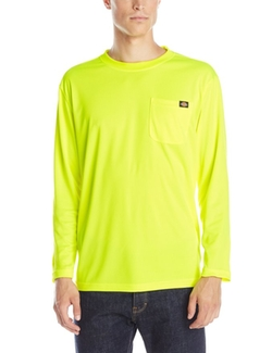 Dickies  - E-Vis Long Sleeve Pocket T-Shirt
