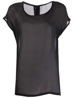 Ann Demeulemeester  - Sheer T-Shirt