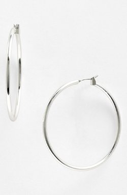 Anne Klein - Large Hoop Earrings