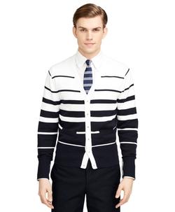 Brooks Brothers - Varigated Stripe Cardigan