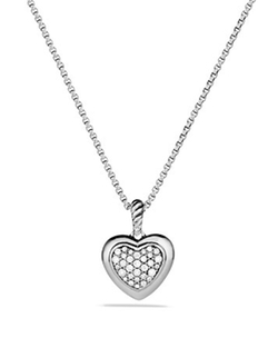 David Yurman - David YurmanCable Heart Pendant Necklace