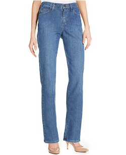 Lee Platinum -  Relaxed-Fit Straight-Leg Jeans