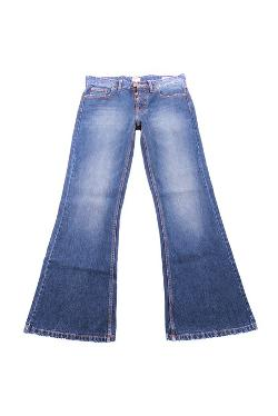 Pure Style Jeans New York - Mens Bootcut Flared Jeans Mid Blue