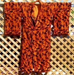 Vintage - Wool Kimono Robe
