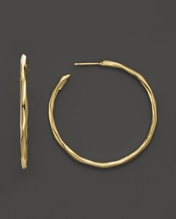 Ippolita - Faceted Hoop Earrings