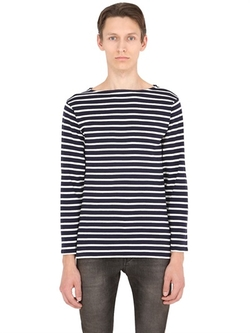 Saint Laurent - Long Sleeve Striped T-Shirt