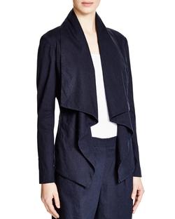 DKNY Pure - Drape Front Jacket