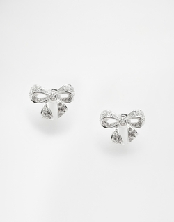 Ted Baker - Crystal Bow Earrings