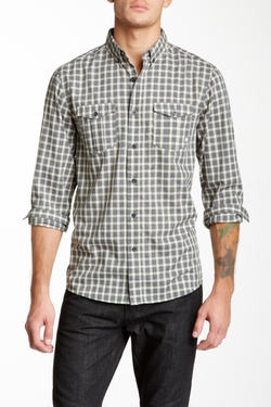 Ambig - Checked Button Front Shirt