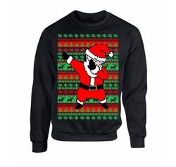 Allntrends - Crewneck Dabbing Santa Sweater