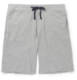 James Perse   - Loopback Cotton-Jersey Shorts