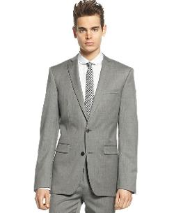 Bar III  - Jacket Light Grey Extra Slim Fit