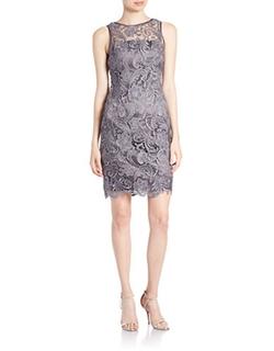 Adrianna PapellLace Sheath Dress - Lace Sheath Dress