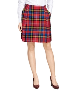 Brooks Brothers - Wool Tartan Plaid Skirt