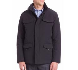 Armani Collezioni - Microfiber Hooded Field Jacket