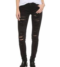 Blank Denim - Ripped Skinny Jeans