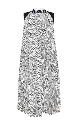 Bouchra Jarrar - Sleeveless Python Printed Dress