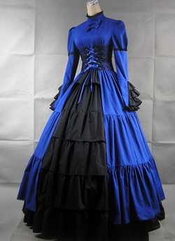 Treasure Box - Ruffle Lolita Victorian Dress
