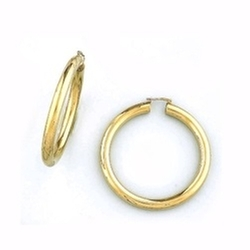 Lior - Twist Hoop Earrings